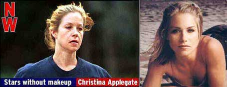 Christina Applegate without makeup pic from Celebrities